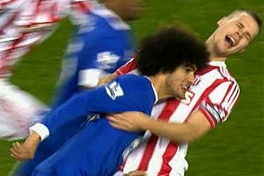 Tony Pulis Lodges Fresh Complaint over Marouane Fellaini Ban