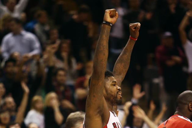 Raptors Win Fifth Straight; Lose Valanciunas