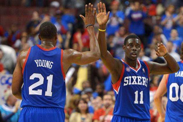 Three Pointers: Sixers Tear Past Hawks with Fantastic Two-Way Play