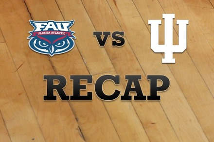 Florida Atlantic vs. Indiana: Recap, Stats, and Box Score