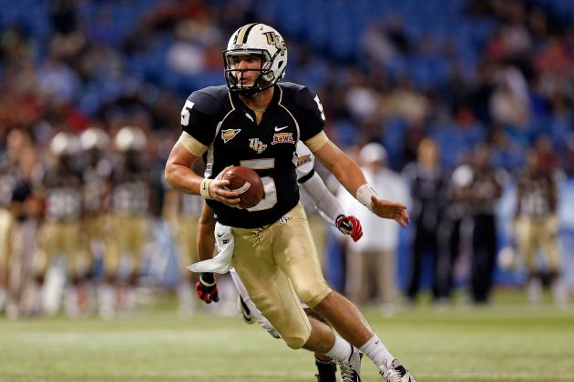 Bortles Shines for UCF in Beef `O' Brady's Bowl
