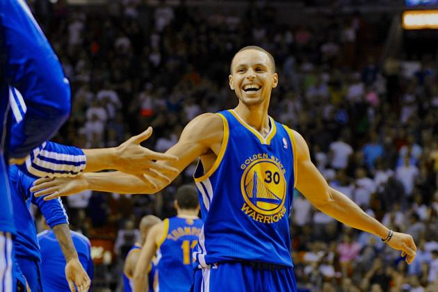 David Lee Posts Triple-Double, Steph Curry Goes Crazy from Range