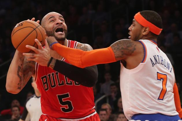 Knicks Show Wrong Kind of Fight at MSG