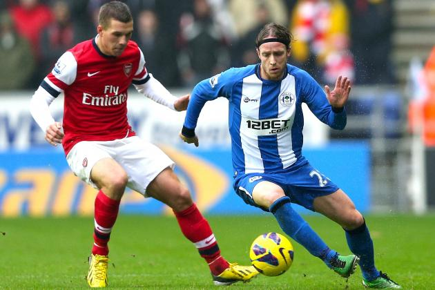 Wigan's Curious Formation Deserved More Against Arsenal