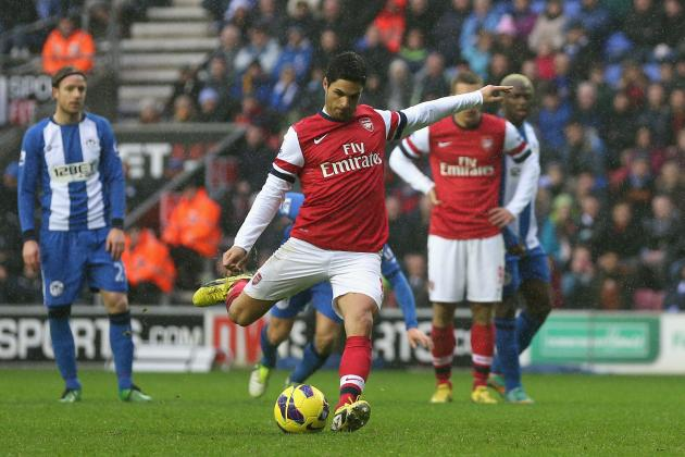 Arsenal FC: Gunners' Player Ratings from 1-0 Win at Wigan