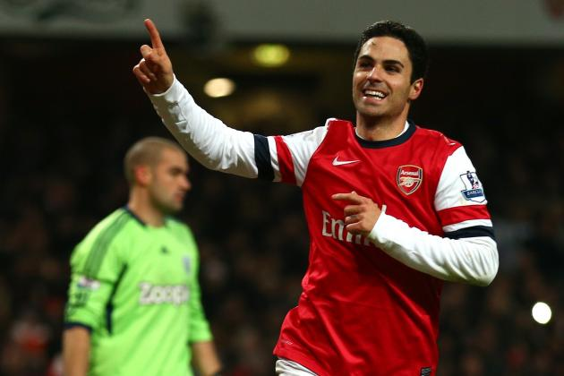Arsenal Midfielder Mikel Arteta Admits Wigan Had Made It Tough for the Gunners