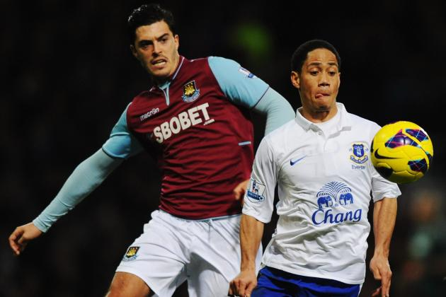 West Ham 1 Everton 2: Two off as Pienaar Strikes to Send Toffees Fourth