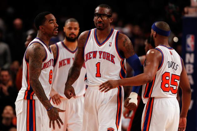 NBA Trade Rumors: Knicks Would Be Wise to Take Amar'e Stoudemire Off Trade Block