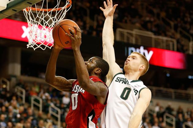 Michigan State's Russell Byrd Has a Sprained Ankle