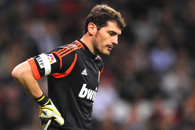 Real Madrid Goalkeeper Iker Casillas Benched for First Match in 10 Years