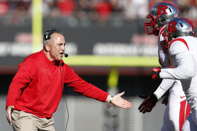 Rutgers Coach Kyle Flood: Eventual Big Ten Move Producing