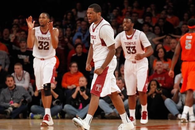 Temple Upsets No. 3 Syracuse, 83-79, at Madison Square Garden
