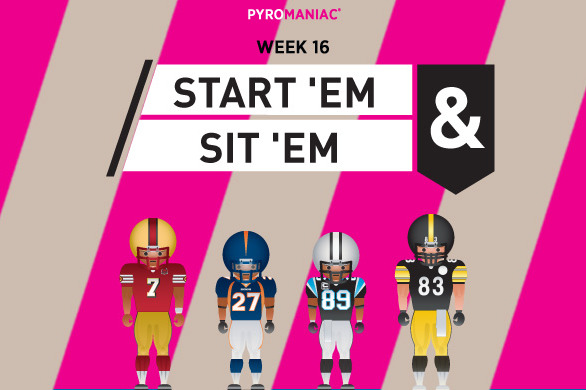 Fantasy Football 2012: Start 'Em, Sit 'Em for Week 16