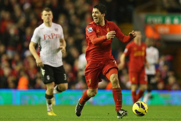 Liverpool 4-0 Fulham: Gerrard, Suarez and Downing sparkle in Reds romp