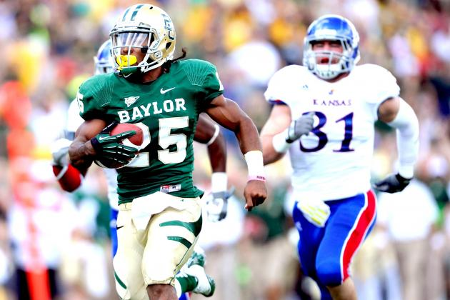 Lache Seastrunk: Talented Baylor Runner Has the Goods to Backup Heisman Boast