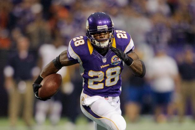 Vikings' Adrian Peterson: 'I Want MVP All to Myself'