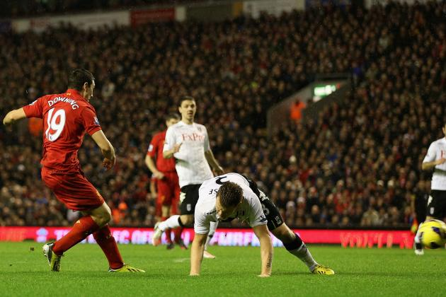 Liverpool vs. Fulham: Stewart Downing Shines as Anfield's 2012 Action Ends Well