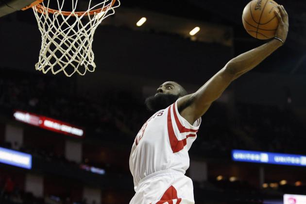 Houston Rockets' Best and Worst Statistical 5-Man Units so Far This Season
