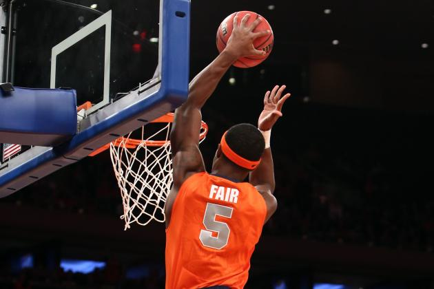 C.J. Fair Achieves a Career-High with 25 Points in Syracuse's Loss to Temple