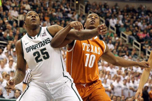 Nix Scores 25 to Help Michigan State Beat Texas