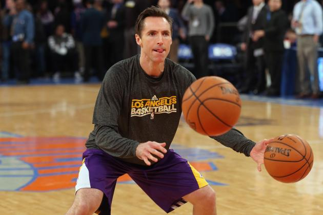 Steve Nash Will Play for Lakers Against Golden State