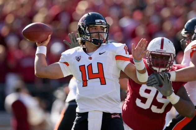 Cody Vaz Named Oregon State Starting Quarterback for Alamo Bowl