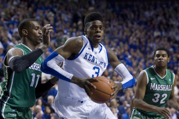 Kentucky vs. Marshall: Wildcats Come out Strong After Break, Beat Herd 82-54