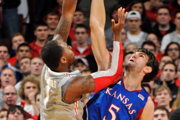 Men's Basketball: Ohio State Goes Cold in Loss to Kansas