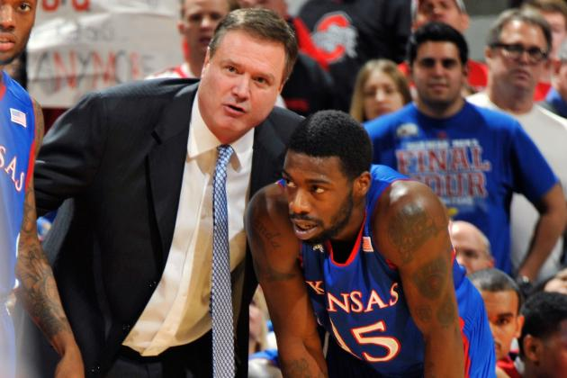 KU Coach Self Has Go-to Guy, Role Players; Finds Toughness in Columbus