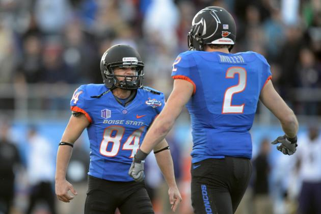 MAACO Bowl Las Vegas: Boise State Kicks FG to Beat Washington 28-26
