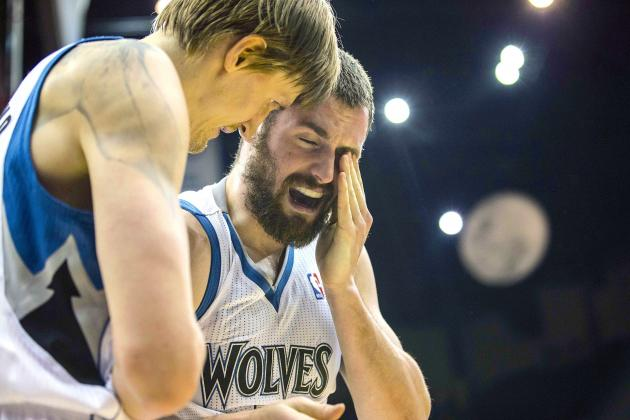 Kevin Love Injury: Updates on Timberwolves Star's Eye