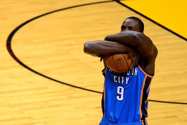 Ibaka, Perkins Shine Early so Durant Can Take over Late in OKC Game 4 Victory