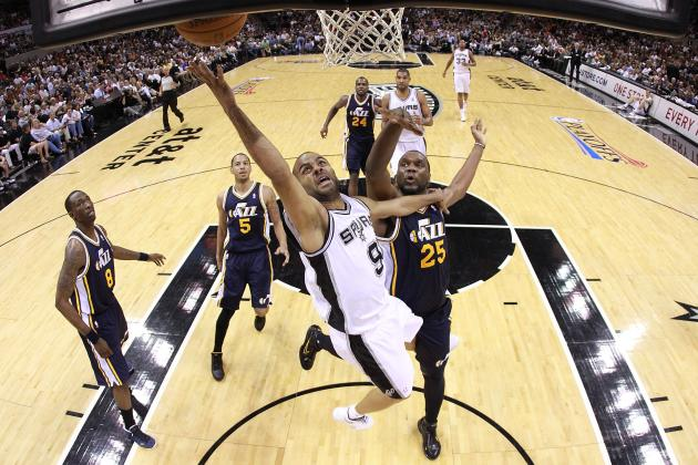 Al Jefferson Doesn't See Anyone Beating the Spurs, Jazz Down 0-3