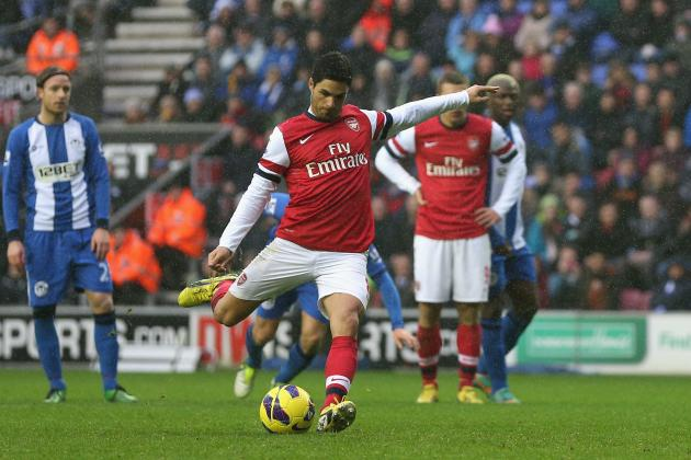 Wigan vs. Arsenal: Rating the Gunners Players in Gritty Win