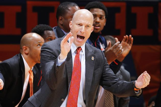 Groce Sees Positives in Illini's First Loss