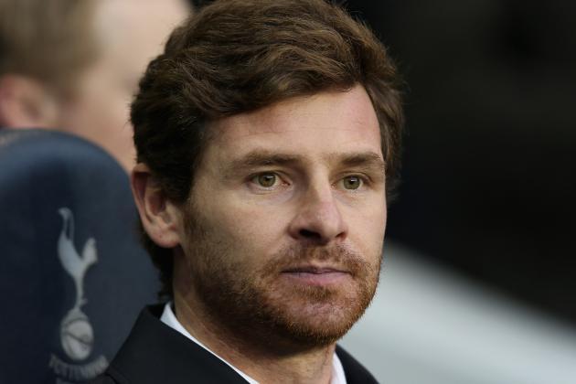 Andre Villas-Boas Still Not Planning Any New Signings for Tottenham