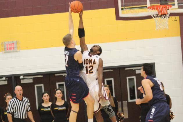 Iona Basketball: David Laury Has Double-Double in His Gael Debut