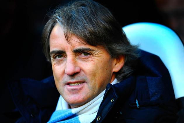 Manchester City: Roberto Mancini Has Sights Set on More Trophies in 2013