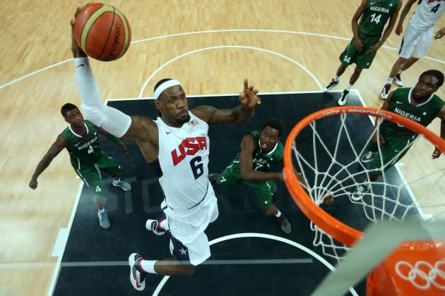 LeBron James Says He Won't Ever Do Dunk Contest