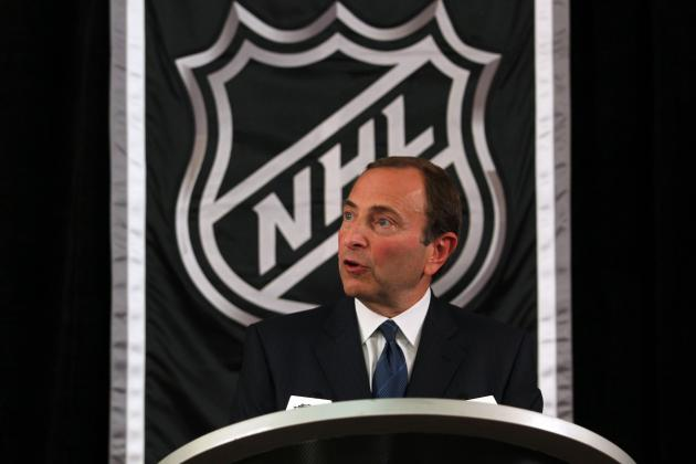 NHL Lockout: The 3 Sticking Points Preventing a New Deal from Getting Done