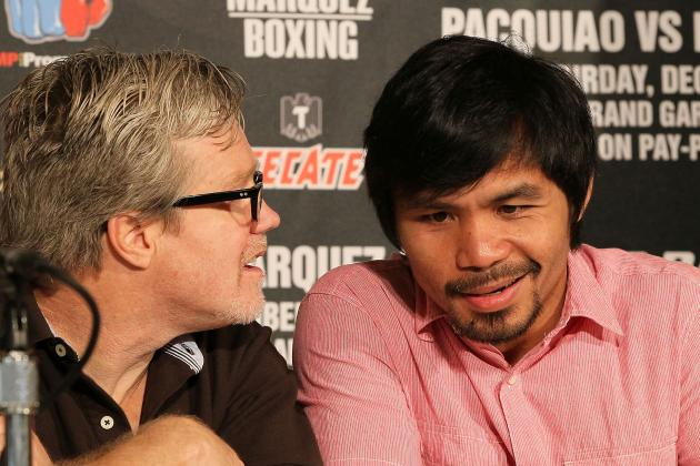 Freddie Roach: I Never Said Marquez Had Used PEDs