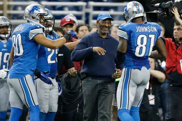 Calvin Johnson: A 'Special Moment' After Record-Breaking Catch
