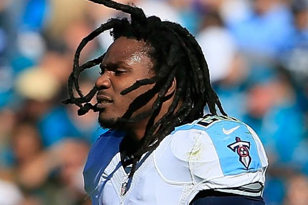 Chris Johnson Suffers Right Ankle Injury vs. Packers