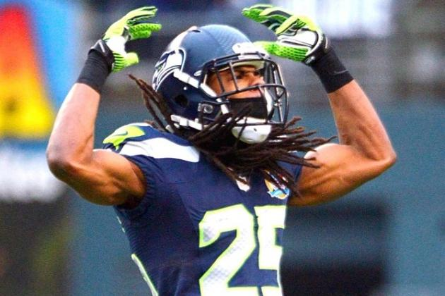 Seahawks DB Richard Sherman Says Positive Drug Test Was Contaminated