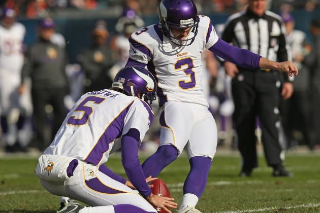 Blair Walsh Enters the Record Book with Ninth 50-Yard Field Goal