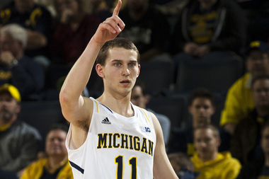 Nik Stauskas Now the Top 3-Point Shooter in America at 55.7 Percent