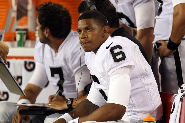 Carson Palmer Injury: Should Matt Leinart or Terrelle Pryor Start for Raiders?