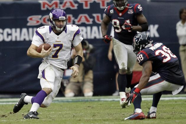 Vikings vs. Texans: Defense, Ponder Step Up as the Vikings Shock the Texans