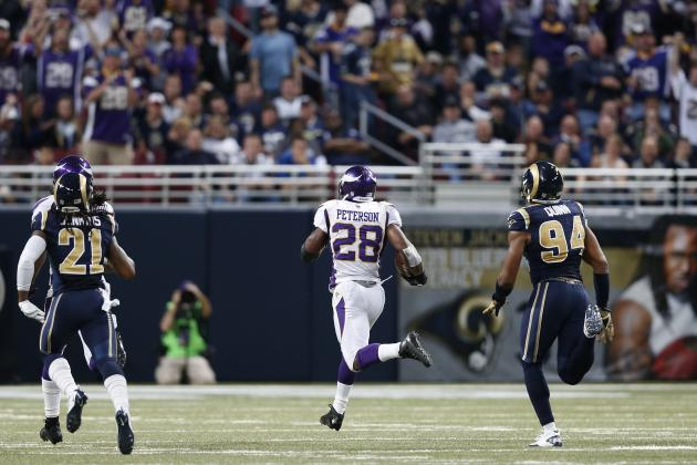 Adrian Peterson: Minnesota Vikings Star Will Break Eric Dickerson's Record