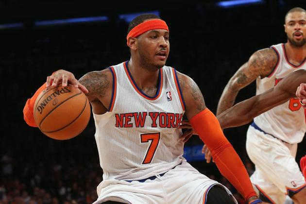 Melo: Less Than East Finals Is Unacceptable